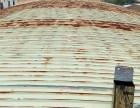 承接江门钢结构防锈防腐工程蓬江锌铁瓦防锈补漏新会彩钢瓦翻新