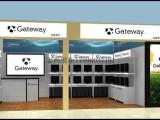 定制手机电脑配件柜台 数码港电子产品展示柜数码产品展厅展会