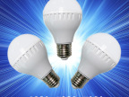 led球泡灯led灯泡 led节能灯泡 3w5w7wled塑料球泡灯具 量大优惠