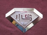 电铸镍标LOGO铭牌铭版装饰喇叭网镍片金属分体字商标