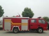 梅州市东风锐铃水罐消防车参数,政府专用水罐消防车