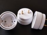 LED双线灯头,单端进电,防爆灯管外壳,