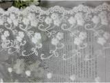 厂家直销 布料批发 服装面料 蕾丝水溶镂空 刺绣花边DIY布料