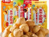 台湾进口 义美小泡芙 牛奶+草莓+巧克力口味 57g*12