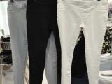 新款加绒加厚外穿保暖打底裤牛仔裤女式显瘦小脚裤铅笔裤