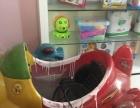 小孩的摇摇车和游戏机