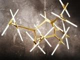 北欧后现代简约人字树杈吊灯LED创意客厅餐厅别墅灯饰时尚灯具