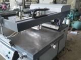 二手半自动斜壁丝印机80120台面