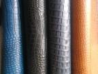 真皮头层皮双色鳄鱼纹牛皮革鞋面革,箱包革、家具装饰皮革