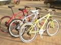 高档自行车处理完全不计成本,实地看过,满意再买,市区可送货,货到