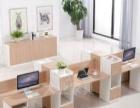 办公桌4人位组合 8人员工工作位 6人电脑桌职员