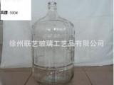 供应矿泉水桶玻璃瓶19L 大玻璃瓶罐