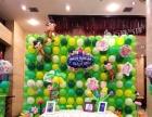 成都宴席签到区气球场景装饰|签到区氦气球装饰