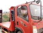 挖机平板拖车图片