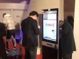 上海出租立式台微信照片打印机广告机触摸一体机智能液晶电视