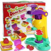 冰淇淋彩泥 过家家玩具 益智玩具 彩泥套装 橡皮泥  A款0.98