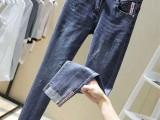 贵州贵阳批发处理尾货库存牛仔裤工厂哪里有库存牛仔裤5元批发