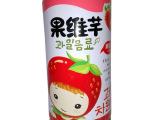 果汁饮料批发 巧妈妈草莓味果维芊果粒果汁饮料
