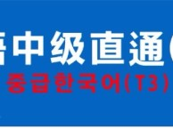 重庆韩语培训 番西教育 韩语中级T3寒假班