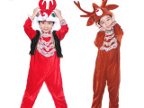 六一驯鹿儿童动物表演服/麋鹿动物演出服/生日礼物/圣诞鹿小红鹿