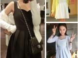A96~春夏必备 超百搭内搭外穿 好质量 超热卖小黑裙/小白裙