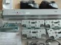 韩国现代电动门设备安装 轨道皮带变形更换