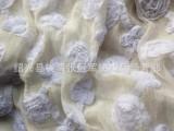 V032 雪纺精品库存盘带绣花中国风绣花布料