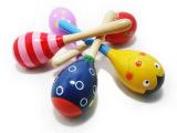 婴幼儿玩具  奥尔夫乐器   小小沙锤  木制益智玩具  锻炼握