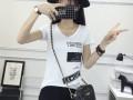 低价T恤衫批发适合零售展销会服装货源实力厂家直销短袖女装