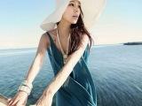 2014新款 亲子 大沿帽沙滩遮阳宽檐 草帽夏季女出游必备帽子批