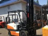 低价出售力至优 TCM1吨 2吨电动叉车 前移式堆高电动叉车