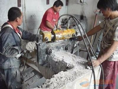 地面切割挖沟北京专业 混凝土切割拆除 基础切割柱子切割
