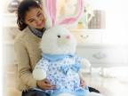 爱情公寓3 陈美嘉的兔子 幸运兔乖乖兔公仔娃娃 毛绒玩具