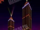 哈尔滨创意楼体亮化-灯饰动态美化-夜景照