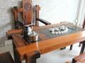 广东家具市场 老船木茶几定做功夫茶台茶几尺寸