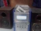 建伍CD+盒带组合音响