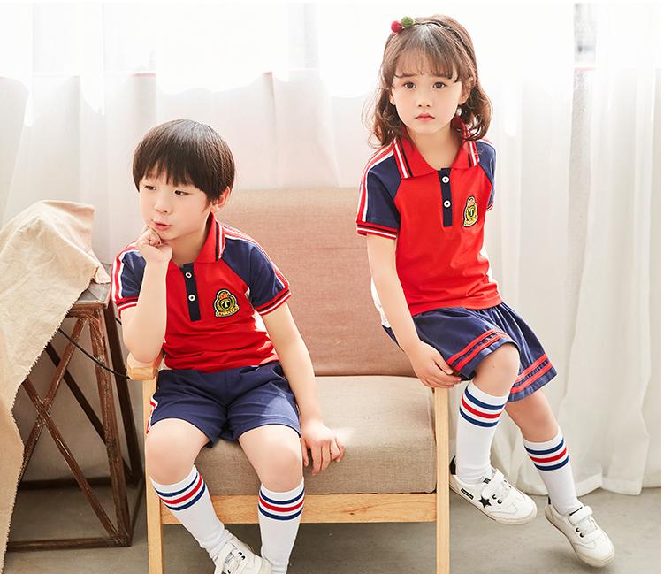 青岛童装订做厂家幼儿园服校服订做国梦童装