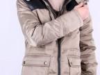 批发冬季男装新款 中老年男士羽绒服 男式中长款加厚羽绒服