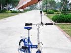 """供应""""好心情""""自行车伞架不锈钢+工程塑钢"""