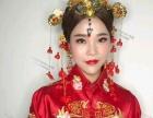秀禾新娘妆也是古典新娘妆的一种,她较主要的特点是新娘在婚