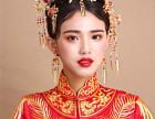想学中国风时尚新娘造型去哪儿漯河艾尚化妆