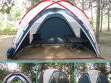 促销俄罗斯卡娜帝亚户外露营装备 四季帐篷天幕 带纱网围布全封闭