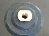 高品质4寸100mm 橡胶接头 水磨机磨头 水磨头 橡胶吸盘托盘