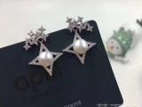 APM Monaco 星光镶钻珍珠耳环耳钉
