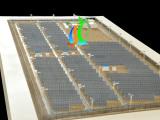 北京模型设计公司专业设计制作光伏发电模型 太阳能模型