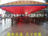 苏州相城区活动帐篷固定厂房搭建伸缩式推拉雨棚遮阳遮雨折叠蓬