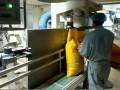 半自动包装机-自动卷边贴标签 秦皇岛利阳包装机