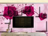 厂家直销 欧米系列钢化玻璃可定制 客厅家居立体玻璃电视背景墙1