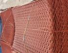 高价回收架子管 扣件 钢笆片 工字钢