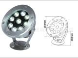 特价供应LED水下灯 9W 12W不锈钢水底灯 喷泉灯 水下亮化